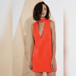 C/MEO Collective mini choker Say it Right Dress